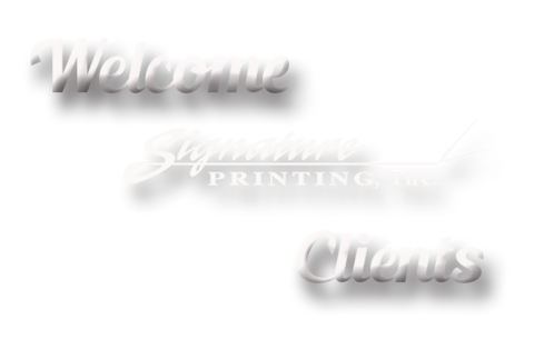 Welcome Signature Customers!